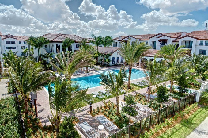 completed projects - Palm Aire Garden